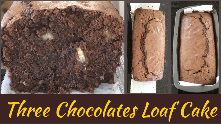 Recipe: Three Chocolates Loaf Cake