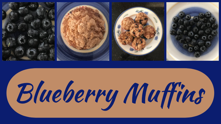 Recipe: Blueberry Muffins